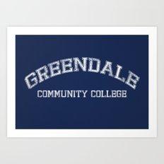 Greendale Community College Art Print