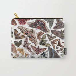 Moths of North America Carry-All Pouch