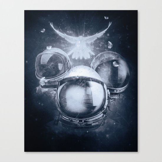 The Trinity and The Spectrum Canvas Print