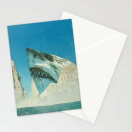 Squali a incastro Stationery Cards