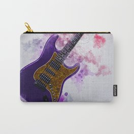 Electric Guitar Art Carry-All Pouch