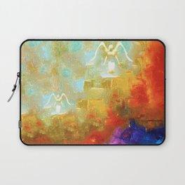 Angels Among Us - Emotive Spiritual Healing Art Laptop Sleeve