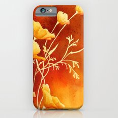 Golden Poppies iPhone 6s Slim Case