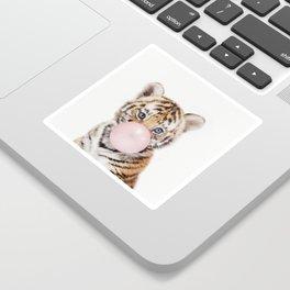Bubble Gum Tiger Cub Sticker