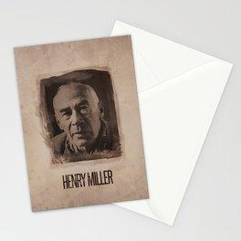 Henry Miller Stationery Cards