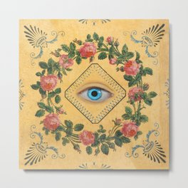 Lover's Eye Metal Print