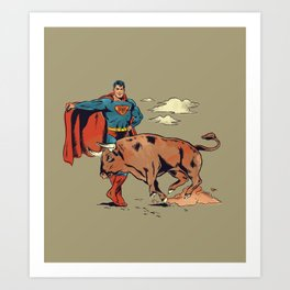 Matador of Steel Art Print