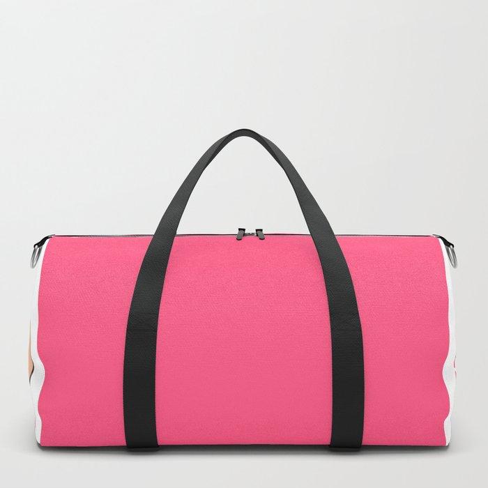JUST PEACHY Duffle Bag