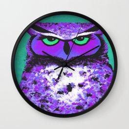 Violet O Wall Clock