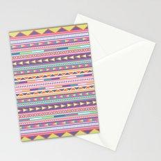 Geometric Pastel Pattern Stationery Cards