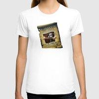 monkey island T-shirts featuring Monkey Island - WANTED! Spiffy, the Scumm Bar dog by Sberla