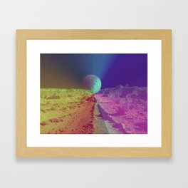 The Space Canyon Grand Framed Art Print