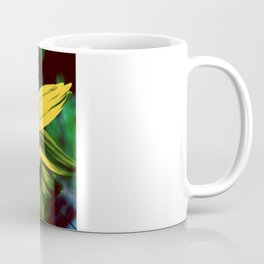 Vintage Yellow Flower Coffee Mug