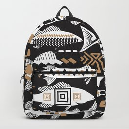 Boho Fishes III. Backpack
