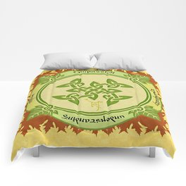 Circle of the Enlightened - Ivy Comforters