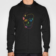 flying skull Hoody