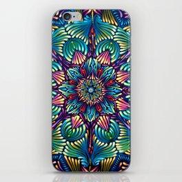 Kaleidoscopic Mandala iPhone Skin