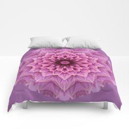Pink Petals Comforters
