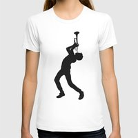 trumpet T-shirts featuring Trumpet Ludwig by pearlypearlmagic