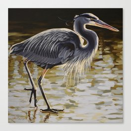 Great Blue Heron 3 Canvas Print