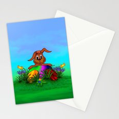 Easter Rabbit - Spring awakening Stationery Cards