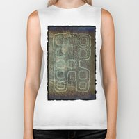 android Biker Tanks featuring ANDROID by lucborell