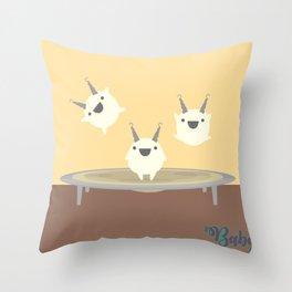 Baby Halloween 3 Throw Pillow