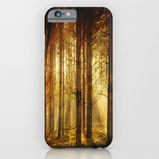 Golden Nature. iPhone & iPod Case