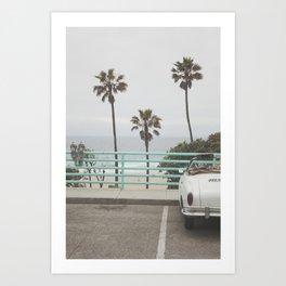 Cruisin Manhattan Beach Art Print