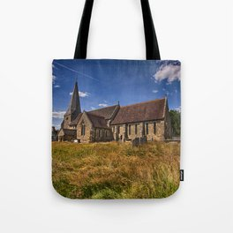 St Andrew and St Mary The Virgin Fletching Tote Bag