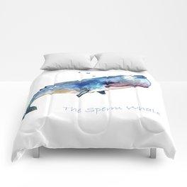 Whale Art Comforters