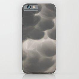 Mammatus Clouds 1 iPhone Case