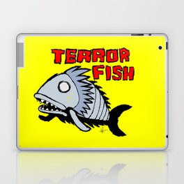Terror fish Laptop & iPad Skin