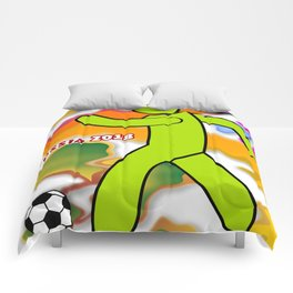 Soccer Player Comforters