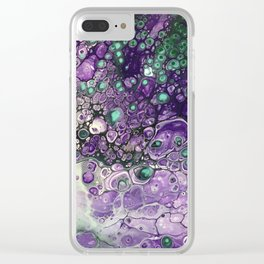 Lilac Sky Clear iPhone Case
