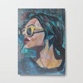 Sunglasses Metal Print