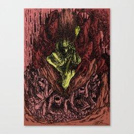 Portrait of a Tyrant Canvas Print