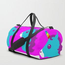 Portrait  of a Unicorn Duffle Bag