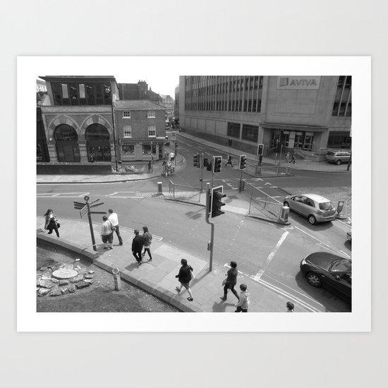 York #117 Art Print