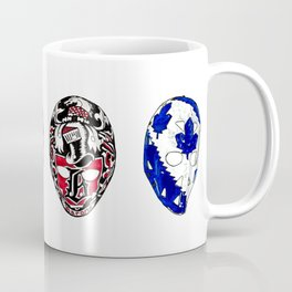 70s Fibreglass Masks Coffee Mug