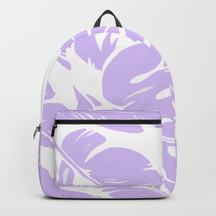 PALM LEAF LILAC Backpack