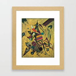 Wassily Kandinsky - Points Framed Art Print