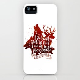 I solemnly swear - white iPhone Case