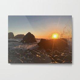 Roaring Sea  Metal Print