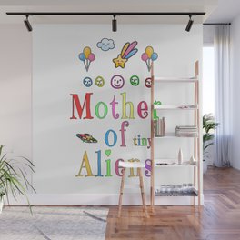Mother Mothers Day Present Alien Children Gift Wall Mural