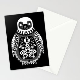 Black Penguin Ecopop Stationery Cards