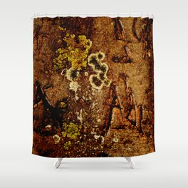 Tree bark 3 natural pattern Shower Curtain