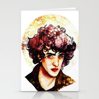 grantaire Stationery Cards featuring Grantaire watercolour by chazstity