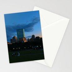 Boston Common Sunset Stationery Cards