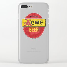 My Beer Clear iPhone Case